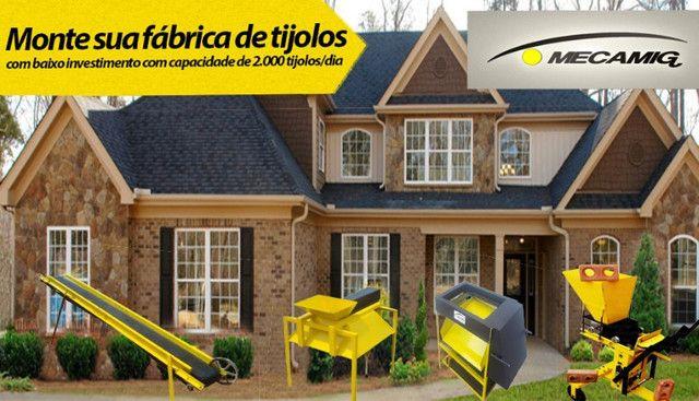 Prensa Manual de tijolo ecológico - Linha profissional - Foto 3