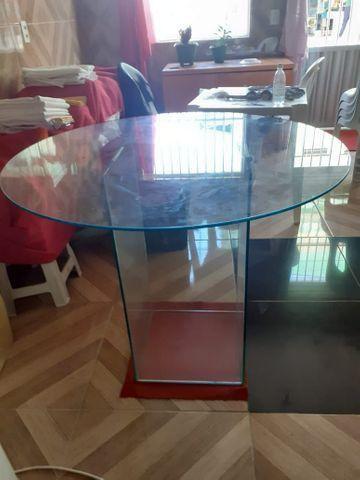Mesa de vidro redonda - Foto 3
