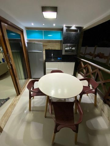 Vende- se excelente apartamento todo mobiliado em Tibau - Foto 12