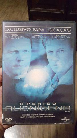 Filme DVD O Perigo Alienigena