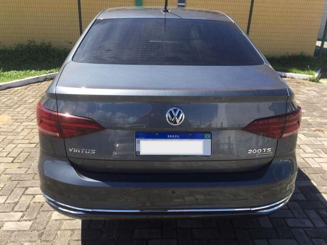 VW Virtus 200 TSI Highline (Aut) (Flex) 18/18, Apenas 12.600km, Único Dono - Foto 3