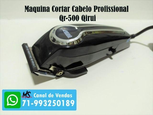 Maquina Cortar Cabelo Profissional 110v Qr-500 Qirui - Foto 2