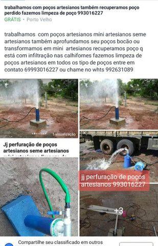 Trabalhamos com transformação ou aprofundamento de poço bocão em míni artesianos   - Foto 2
