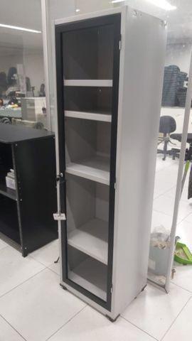 Armário em Aço com 1 porta para vidro - Oferta de produto de mostruário ótimo valor. - Foto 3