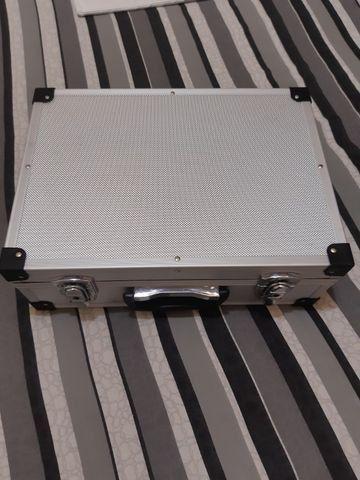 Maleta em alumínio para drones, notebook, etc. - Foto 2