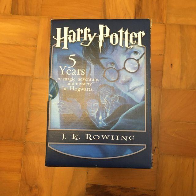 Box 5 livros pocket harry potter em ingles - Foto 2