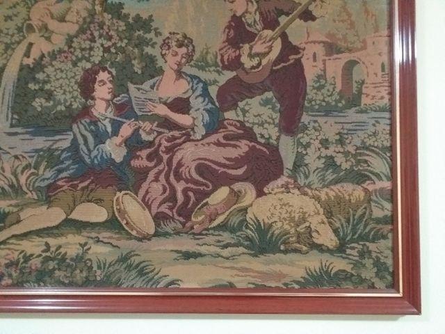 Quadro em tapeçaria GOBELIN - Foto 4