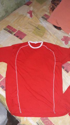 Camisas de 15 unidades é vermelho  - Foto 3