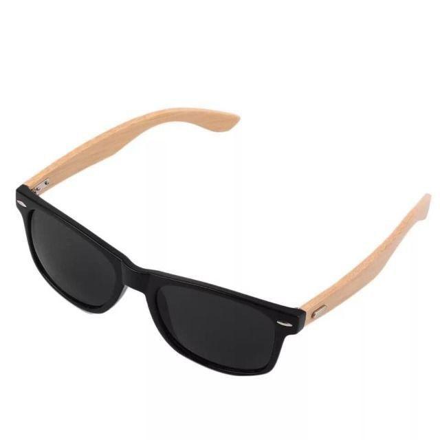 Óculos De Sol Wayfarer LK De Madeira / Bambu - Proteção Uv400 - Foto 3