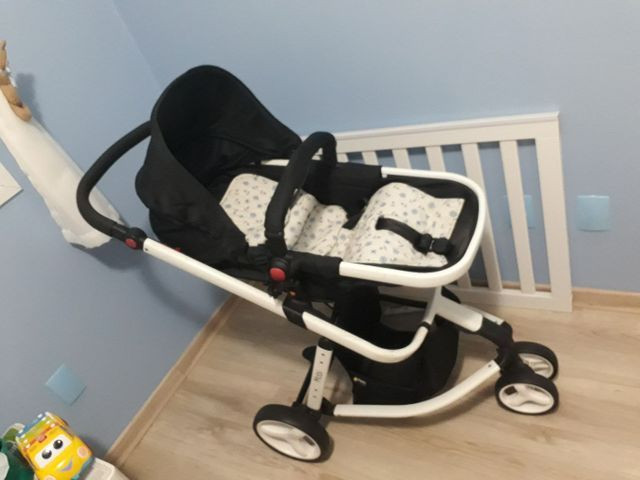 Carrinho de bebê Safety Mobi Branco - excelente estado