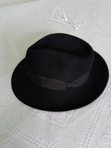 Vendo chapéu 100% Pelo de Lebre - Foto 2
