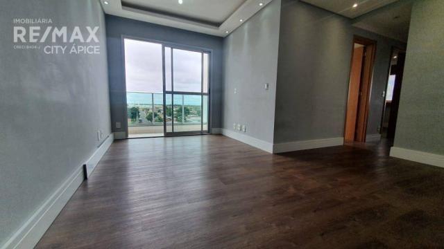Apartamento com 3 dormitórios à venda, 67 m² por R$ 350.000,00 - Tiradentes - Campo Grande - Foto 3
