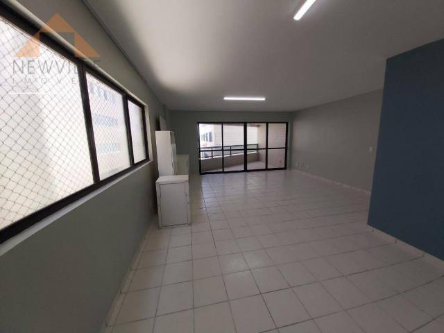 Apartamento com 4 quartos para alugar, 170 m² por R$ 6.000/mês com taxas- Boa Viagem - Rec