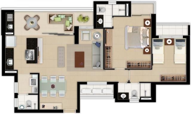 Apartamento à venda com 3 dormitórios em Aldeota, Fortaleza cod:RL4 - Foto 19