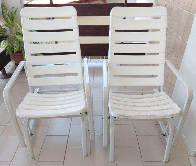 Cadeiras de balanço (alumínio), Marfinite. - Foto 2