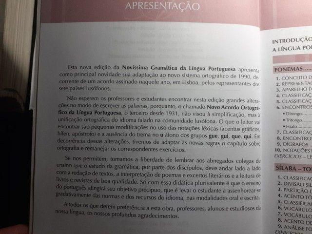 Livro Gramática prof. Cegalla Pouco usado - Foto 4