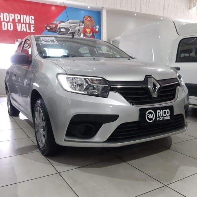 Renault Logan Life 1.0 2020 Flex - Foto 3