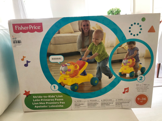 Andador leaozinho fisher-Price - Foto 2