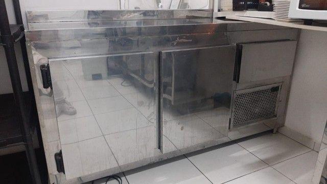 Condimentadora Balcão Refrigerado Semi Novo