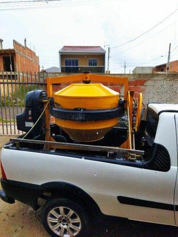 Betoneira sapo compactador andaimes martelete - Foto 2