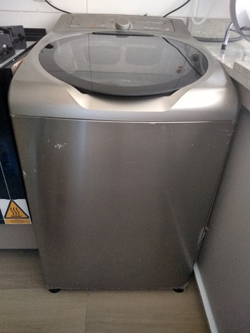 Máquina lavar inox Brastemp Ative - Foto 2