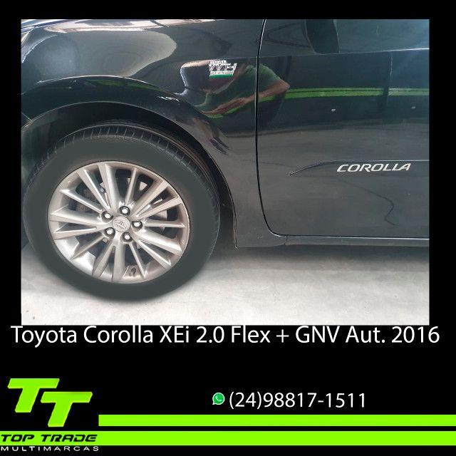 Toyota Corolla XEi 2.0 Flex + GNV Automático 2016 - Foto 6