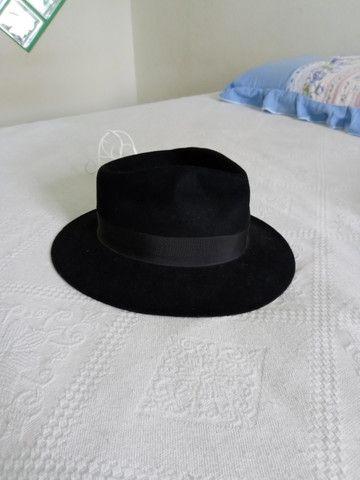 Vendo chapéu 100% Pelo de Lebre - Foto 3