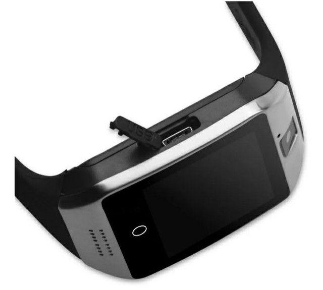 Relógio Smart Watch Q18  Celular Android - Foto 4