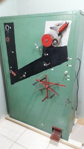 Máquina de fazer esponjas de aço inox