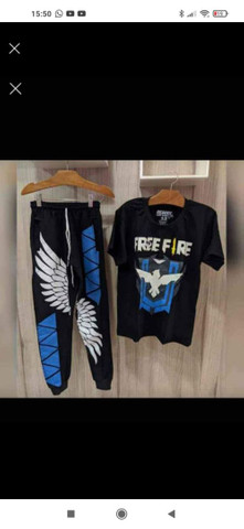 Conjunto angelical Freefire