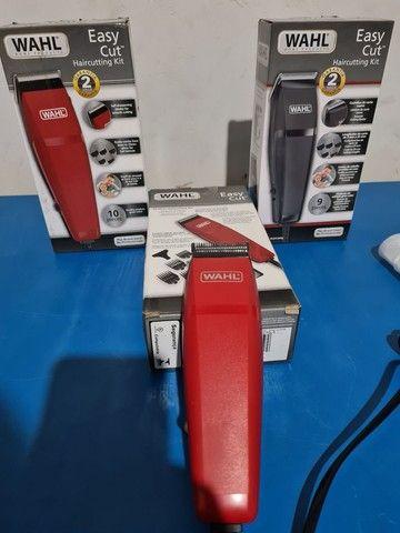 Máquina de cortar cabelo wahl easy cut barbeiro salão curso - Foto 5