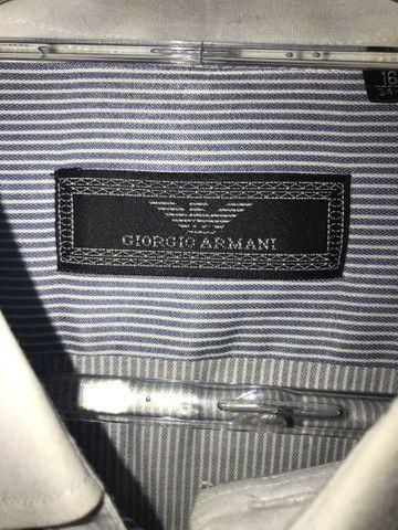 Camisa social Giorgio Armani / Tommy Hilfiger - Foto 2