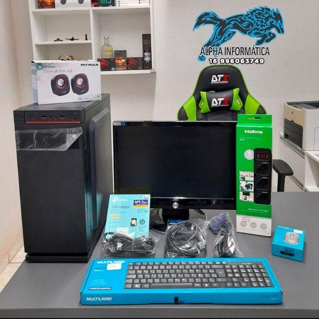 Computador Completo (Equipamento com Garantia) Novo