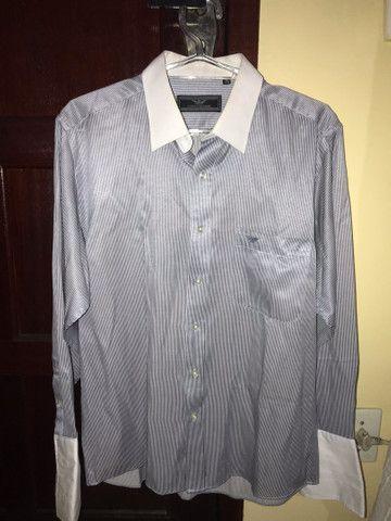 Camisa social Giorgio Armani / Tommy Hilfiger