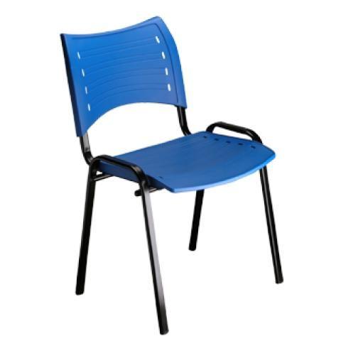 Cadeira Plastica azul