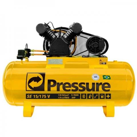 Compressor de Ar Trifásico 15PCM 175 Litros