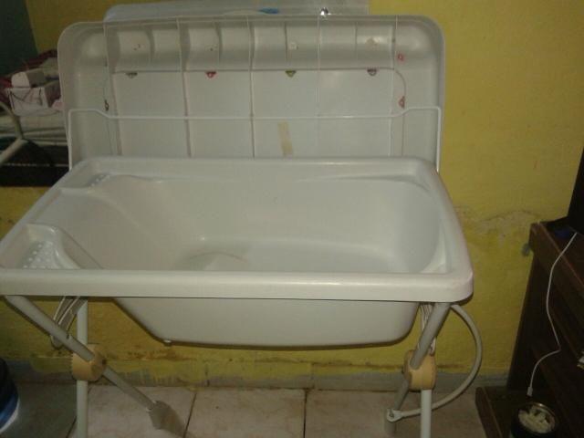 Banheira com trocador da marca burrigoto