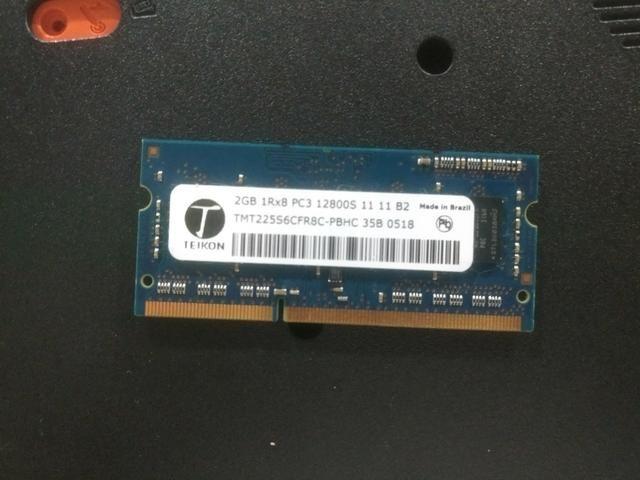 Memória de Notebook DDR3 2 GB