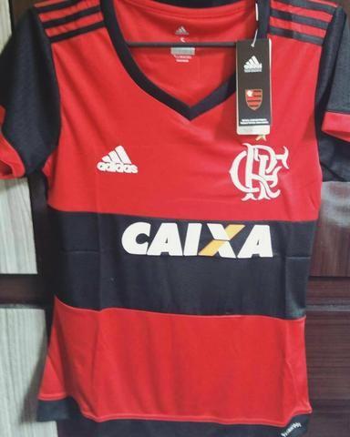 Camisa Flamengo - Feminina