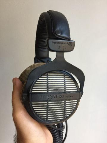 Fone De Ouvido Beyerdynamic Dt 990 Pro 250 Ohms