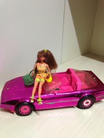 Carro Conversivel da Barbie
