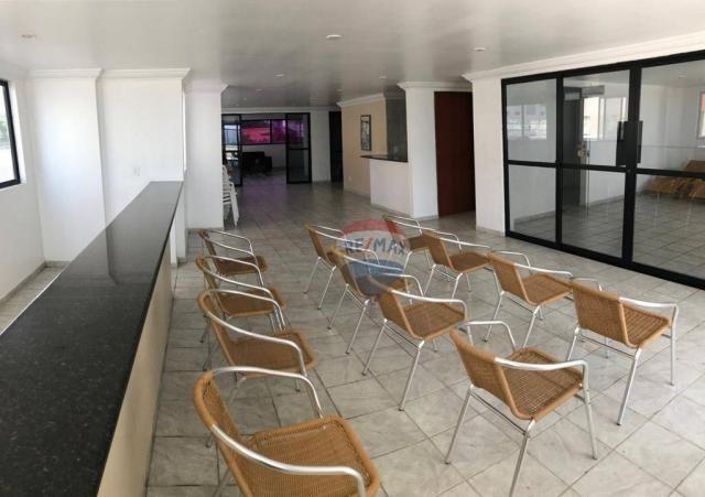 Apartamento com 1 dormitório à venda, 41 m² por r$ 230.000,00 - ponta negra - natal/rn - Foto 7