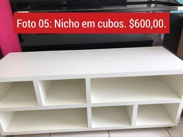 Loja fechou recente, estou vendendo os móveis,armários planejados, toda a estrutura - Foto 5