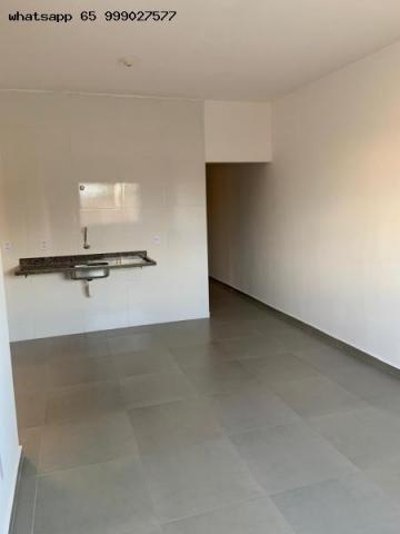 Casa para Venda em Várzea Grande, Nova Fronteira, 2 dormitórios, 1 banheiro, 2 vagas - Foto 2