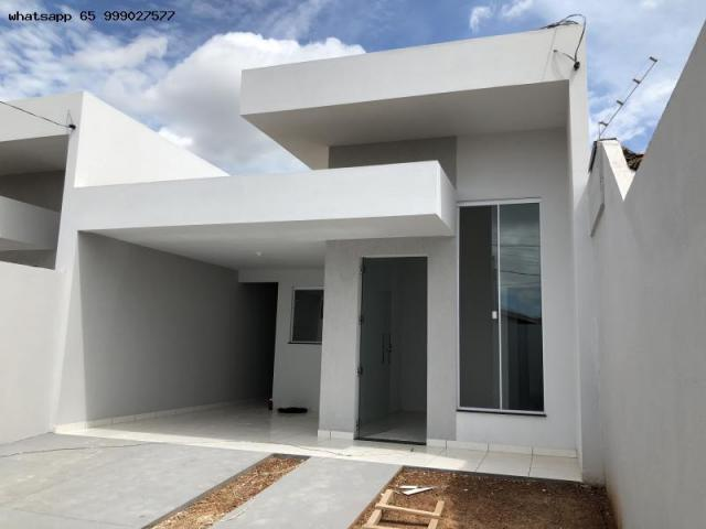 Casa para Venda em Várzea Grande, MANGA, 2 dormitórios, 1 suíte, 2 banheiros, 2 vagas - Foto 9