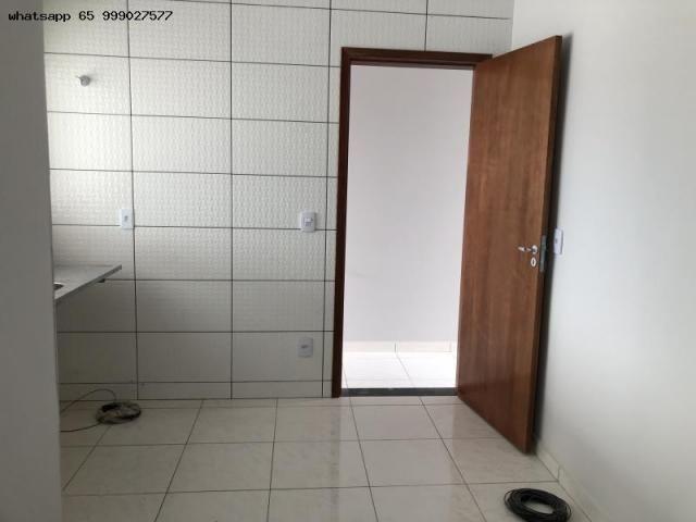Casa para Venda em Várzea Grande, MANGA, 2 dormitórios, 1 suíte, 2 banheiros, 2 vagas - Foto 3