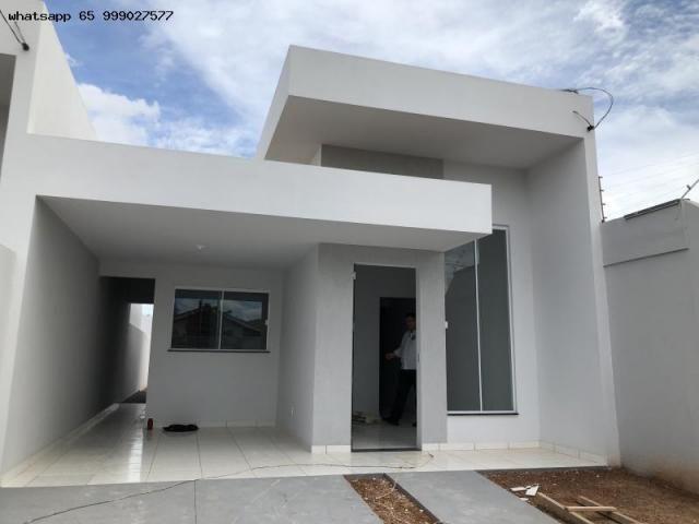Casa para Venda em Várzea Grande, MANGA, 2 dormitórios, 1 suíte, 2 banheiros, 2 vagas