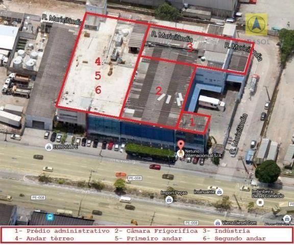 Indústria para locação - Área - Galpão - Foto 5