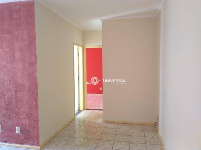 Apartamento com 2 dormitórios para alugar, 55 m² por r$ 700/mês - bandeirantes - juiz de f - Foto 3