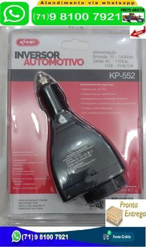Inversor Automotivo Knup 75w Conversor 12v p/ 110v Kp552 (Novo)